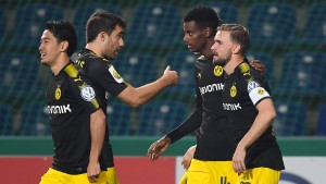 Dortmund ohne Stars souverän