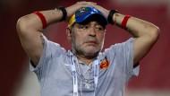 Kurioser Fehler kostet Maradona den Job