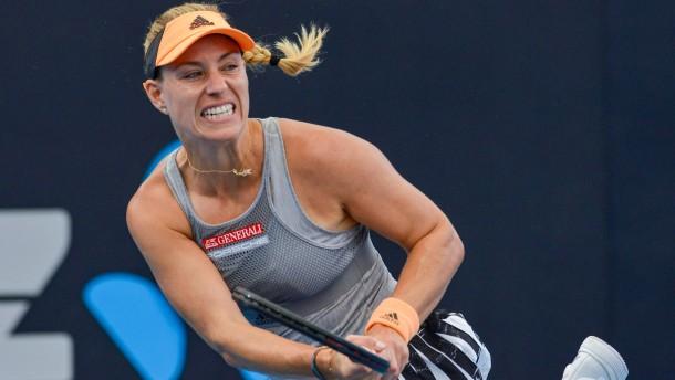 Tennis-Star Kerber muss bei Turnier verletzt aufgeben