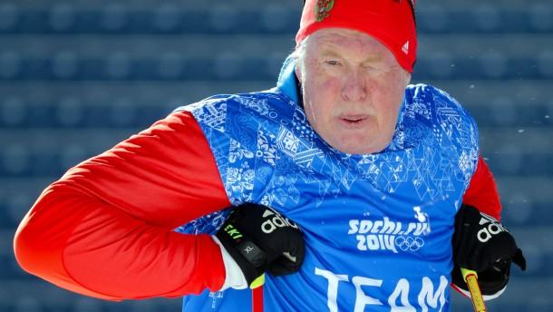Schwedens Biathlon-Coach darf nicht zu Olympia