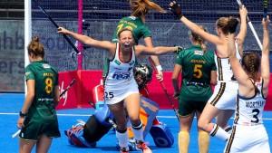 Deutsche Damen starten erfolgreich in die WM