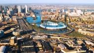 Mögliche Olympiastadt Boston: gegen Los Angeles, San Francisco und Washington durchgesetzt, aber auch gegen die eigene Bevölkerung?