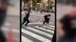 Zusammenstöße zwischen Polizei und Hooligans
