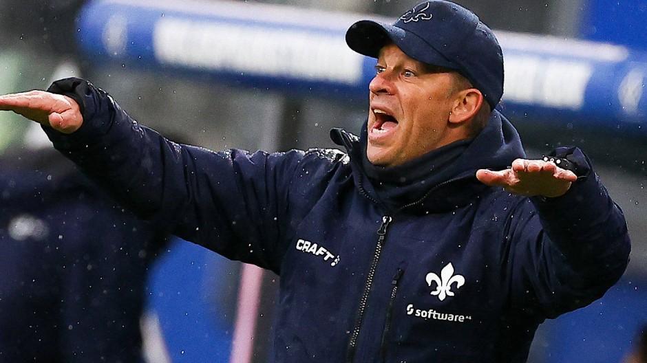 """Fordert noch mehr von seiner Mannschaft: """"Lilien""""-Coach Markus Anfang"""