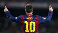 Von den starken argentinischen Stürmern immer noch der beste: Lionel Messi