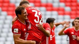 Meister-Bayern jagen spektakuläre Marke