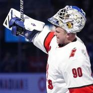 """""""Es war großartig. Ich hatte die Zeit meines Lebens da draußen"""": David Ayres wird plötzlich NHL-Goalie."""