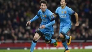 Immer wieder Messi