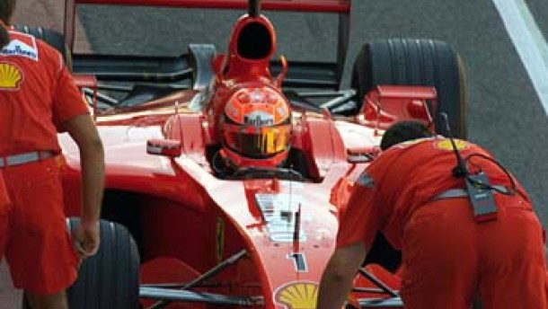 Michael Schumacher: Teststop nach Trainingscrash