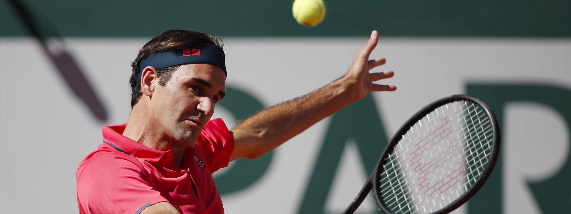 Roger Federer siegt beim Grand-Slam-Comeback
