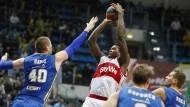 Bayern-Basketballer bejubeln Sieg in Moskau