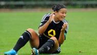 Frankfurter Frauen nach 4:0-Sieg im Achtelfinale