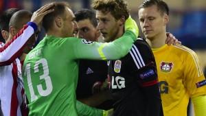 Bereit fürs Wiedersehen mit Atlético