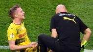 Marco Reus musste schon zur Halbzeit verletzt ausgewechselt werden.