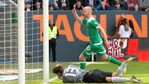 Werder gewinnt den Schlagabtausch