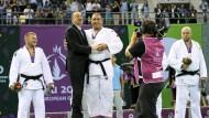 Der größte Sieger: Aserbaidschans Präsident Ilham Alijew