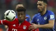 Der FC Bayern und Schalke trafen erst am vergangenen Samstag in der Bundesliga aufeinander und trennten sich 1:1.