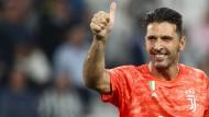 Rekordspieler, kurz vor der Heiligsprechung: Gianluigi Buffon