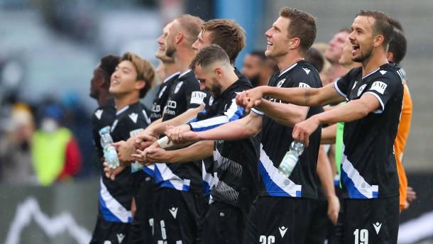 Erfolgreiches Heim-Comeback für Bielefeld