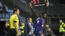 Barcelona mit Dembélé nur unentschieden