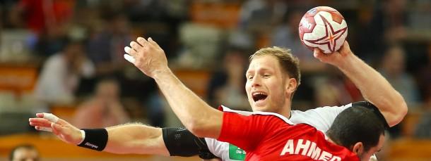 Kampf um Aufmerksamkeit: Die Handball-WM mit Deutschlands Torjägher Steffen Weinhold (hinten) im Pay-TV sorgt weiter für Diskussionen