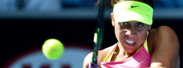 Aufsteigerin: Madison Keys