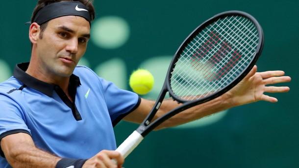 Tennis-Traumfinale zwischen Alexander Zverev & Federer Federer