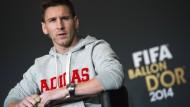 """""""Ich weiß nicht, wo ich im kommenden Jahr sein werde"""": Lionel Messi"""