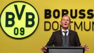 Dortmunds Watzke stichelt gegen die Bayern