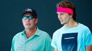 Lendl will nicht mehr Trainer von Zverev sein