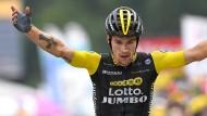 Etappensieger bei der Tour de France: Primoz Roglic.
