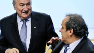 Blatter hört die Engel singen