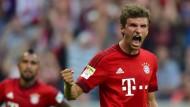Hat einen Lauf: Thomas Müller trifft für die Münchner wie am Fließband