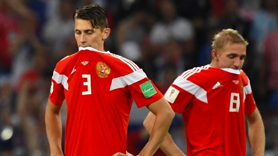 Am Biss lag es nicht: Russland scheidet im WM-Viertelfinale aus.