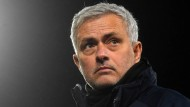 Künftig in Rom an der Seitenlinie: José Mourinho