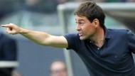 """Das ist rufschädigend"": Nürnbergs Trainer René Weiler."