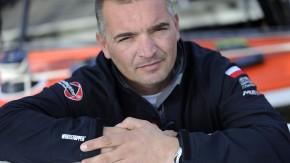 """Der Pole Zbigniew Gutowski gab gerade entnervt auf, weil sein Autopilot an Bord der """"Energa"""" verrück"""