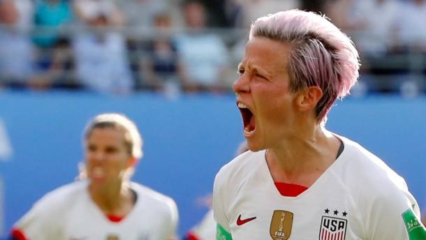"""Amerikanische Fußballerinnen """"werden in Berufung gehen"""""""