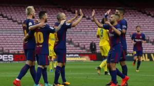 FC Barcelona siegt auch ohne Zuschauer