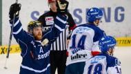 Sieg Ingolstadt: Derek Hahn jubelt