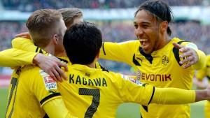 Alle spielen für Dortmund