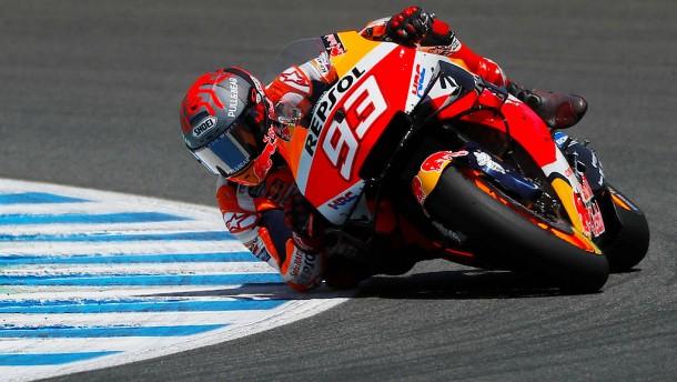 Motorrad-Star Marquez hört doch auf den Knochen