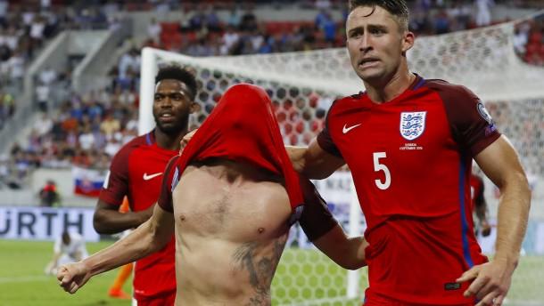 Spätes Glück für England