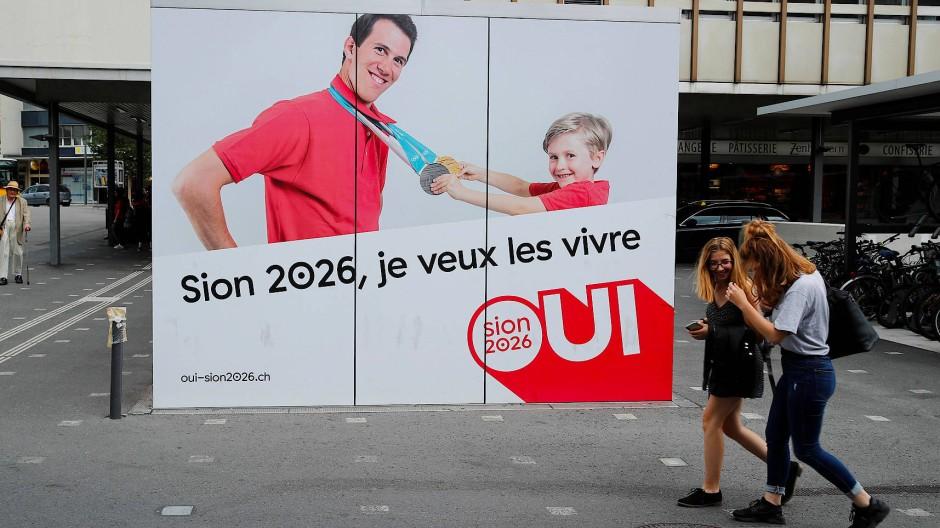 Ja zum Leben: Die Befürworter wollen Sion 2026