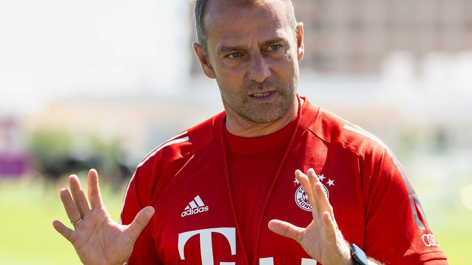 So ein Turnier gab es noch nie auf Vereinsebene: Bayern-Trainer Hansi Flick