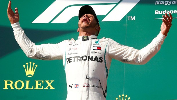 """Lewis Hamilton ist der König des Hungarorings"""