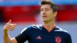 Ärger bei Lewandowski nach der Gala des FC Bayern