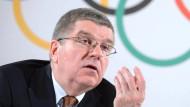 Das IOC mit Präsident Thomas Bach will das Vertrauen zurückgewinnen.