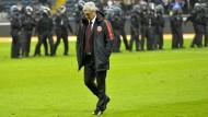 Bitterer Abgang: Trainer Armin Veh verlässt den Platz