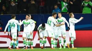Glanzloser Wolfsburger Sieg fürs Weiterkommen